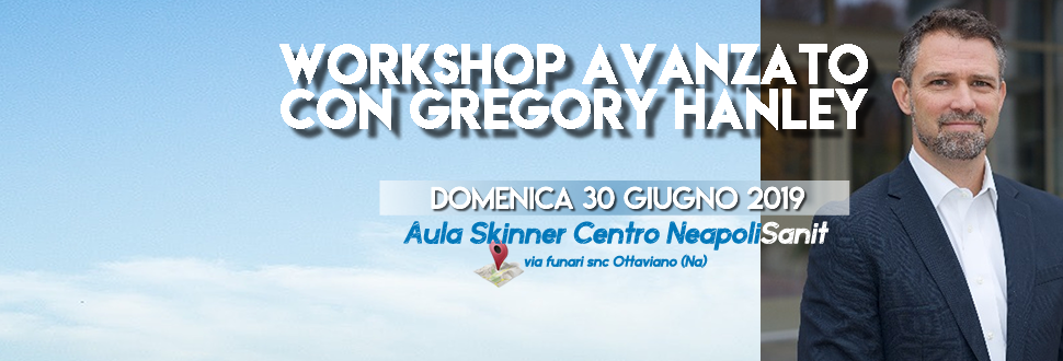 WORKSHOP AVANZATO CON GREGORY HANLEY